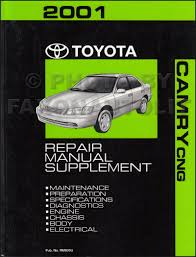 2001 toyota camry cng wiring diagram manual original