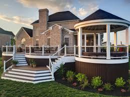 Rancher Style Homes Decks Raised Vs Grade Level Hgtv