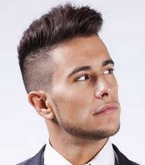 Men S Spiked Hairstyles Mens Highlights For Short Hair