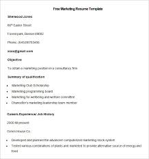 Sample Personal Resume by Resume Templates U2013 127 Free Samples Examples U0026 Format Download