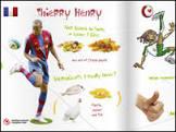 Ídolos do futebol europeu lançam livro de receitas