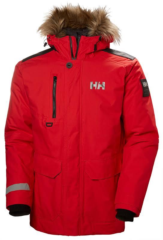 Helly Hansen Svalbard Parka Flag Red Large 53150-111-L