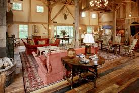 decorating winsome barns with living quarters and charming