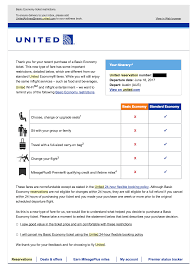 united airlines basic economy tickets are frustrating customers
