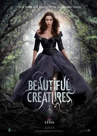 Beautiful Creatures Movie Poster Featuring Alice Englert