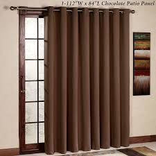 sound proof sliding glass door amazon com rhf thermal insulated blackout patio door curtain