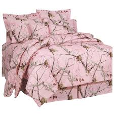 Full Size Bed In A Bag For Girls amazon com realtree ap pink comforter set full home u0026 kitchen