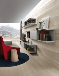 living room wall unit system designs view gallery sleek wall mounted shelves and closed cabinets make the living room unit