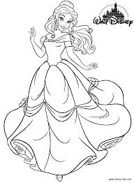 14 wall disney princess coloring pages printable