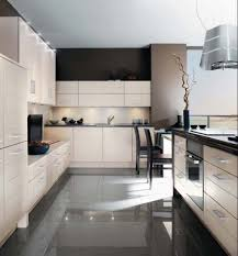 amazing small modern kitchen design with white kitchen cabinet