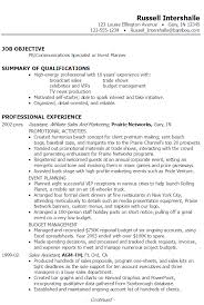 Examples Of Summaries On Resumes by Resume Pr Communications Event Planning Susan Ireland Resumes