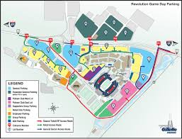 Chicago Parking Map by Parking New England Revolution