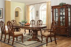 dining room table and 6 chairs dining room table sets 6 chairs najarian enzo dining 7 piece
