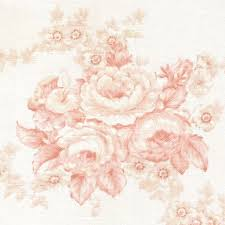 Shabby Chic Pink Wallpaper by Vtg Laura Ashley Fabric Shabby Chic Pink Roses English Country