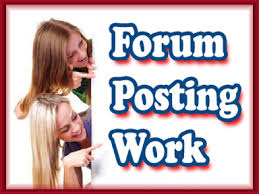 Forums Posting - Seo Guide