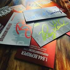 How To Laminate Business Cards Wetheprinters Spot Uv Business Cards U2022 Silk Laminated Business