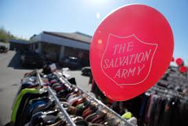 salvation army celebrates thrift store u0027s return to eagle river