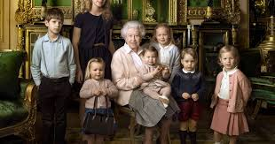 Mia Tindall steals show holding granny     s handbag in Queen     s birthday photograph   but who are the other grandchildren    Mirror Online