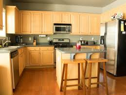 How To Refinish Cabinets Like A Pro HGTV - Can you paint your kitchen cabinets