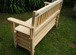 Wooden Bench Plans To Build by Free Woodworking Plans How To Make A Bench Seat