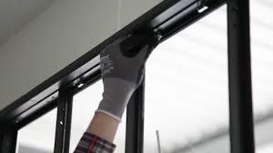 fenetre metal style atelier verriere d u0027atelier modulaire pose d u0027une verrière youtube