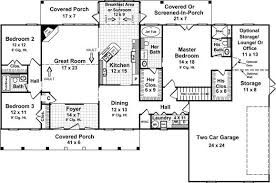 Sunroom Floor Plans by 3 Bedroom 3 Bath Country House Plan Alp 05w0 Allplans Com