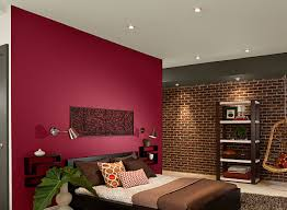 red paint for bedroom home design
