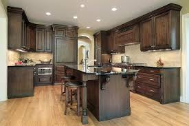 Complete Kitchen Cabinets Dark Walnut Stain Kitchen Cabinets Cabinets Amys Office