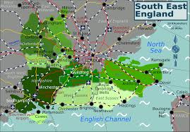 Southeast Map File South East England Map Png Wikimedia Commons