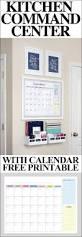 Kitchen Wall Organization Ideas Best 25 Kitchen Calendar Organization Ideas On Pinterest