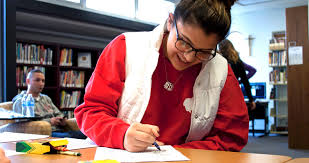Coloring books  comfort dogs and more help students shed stress     University Business