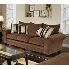 Chocolate Living Room Furniture by Simmons Upholstery Outback Chocolate Sofa Set Hayneedle