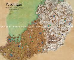 Morrowind Map Vvardenfell Zone Map For The Elder Scrolls Online Morrowind