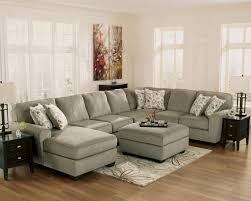 Ashley Furniture Sectionals Ashley Furniture Patola Park Patina 4 Piece Small Sectional With