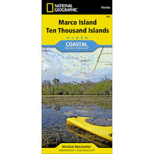 Thousand Islands Map 402 Marco Island Ten Thousand Islands Trail Map National