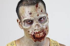 Halloween Makeup Application by Walking Dead Inspired Zombie Makeup Application Special Effects