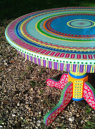 Best  Colorful Furniture Ideas On Pinterest Wood Painting - Colorful patio furniture