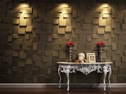 Decorative Home Interiors by Contemporary 3d Wallpaper With Lighting Decoration On Wall Cool 3d