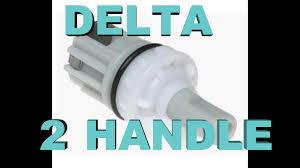 delta 2 handle faucet fix leaks u0026 drips youtube