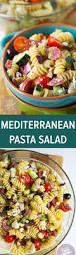 Pasta Salad Ingredients Mediterranean Pasta Salad Table For Two