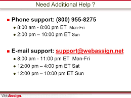 Need Additional Help   Phone support