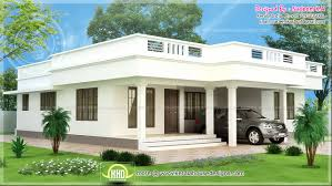 house plans for one story homes single story kerala model