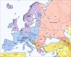 Religions Of The World Map by Religions Map Of Europe Along With Some Parts Of Asia And North