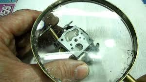 rebuilding walbro carburetor youtube