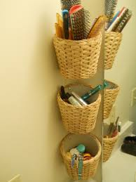 Ikea Wicker Baskets by Hair Brushes Combs Make Up And Accessories Organized Finally