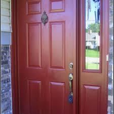 front doors best coloring painting front door red 84 painting