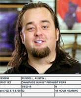 MUG SHOT Pawn Stars      Chumlee arrested for guns and drugs during sexual assault raid     Starcasm