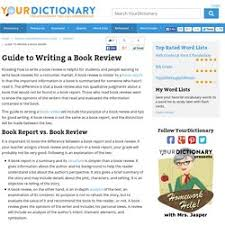 Book Review Outline Template