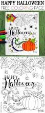 happy halloween banner free printable happy halloween coloring page happy halloween halloween parties