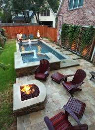 Backyards Ideas Patios by Best 25 Small Backyard Pools Ideas On Pinterest Small Pools